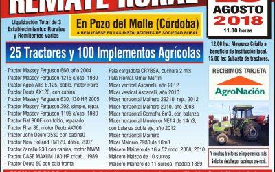 EXTRAORDINARIOS REMATE RURAL