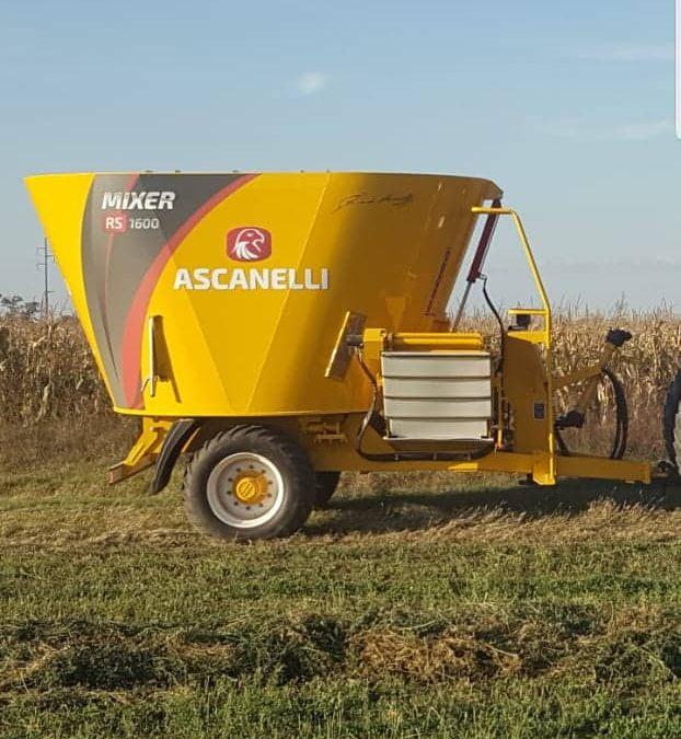 Otra entrega de la semana, Mixer Ascanelli. Gracias por confiar, Silvio Delpino de Los Zorros, Cba